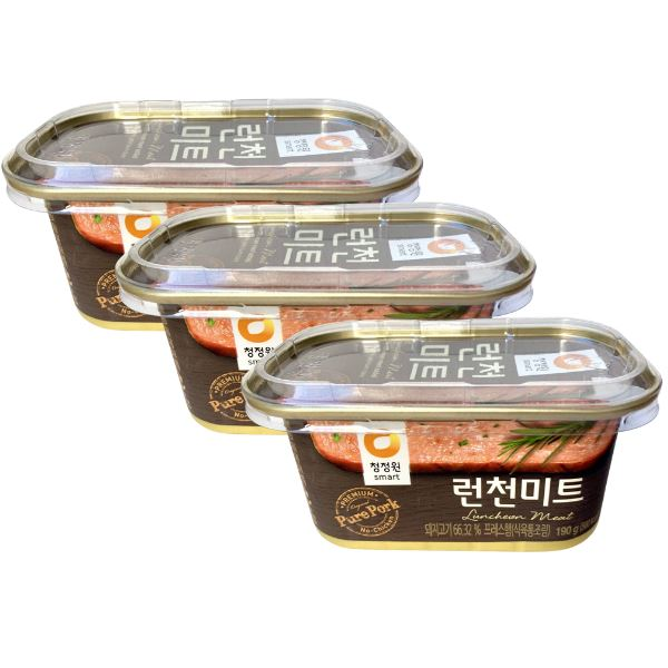 Chung Jung One Luncheon Meat 190g-Pack of 3