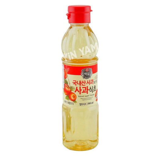 CJ Beksul Apple Vinegar 500ml - Yin Yam - Asian Grocery