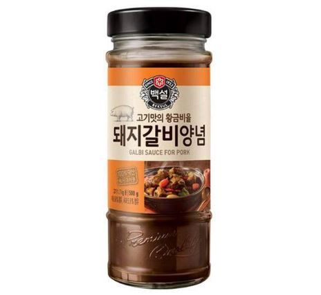 CJ BBQ Sauce for Pork Galbi 500g - Yin Yam - Asian Grocery