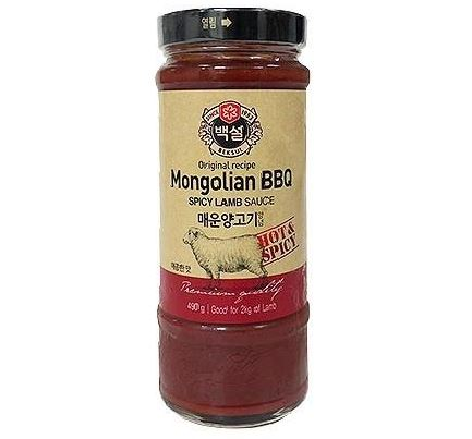 CJ Spicy Mongolian BBQ Sauce for Lamb 490g - Yin Yam - Asian Grocery