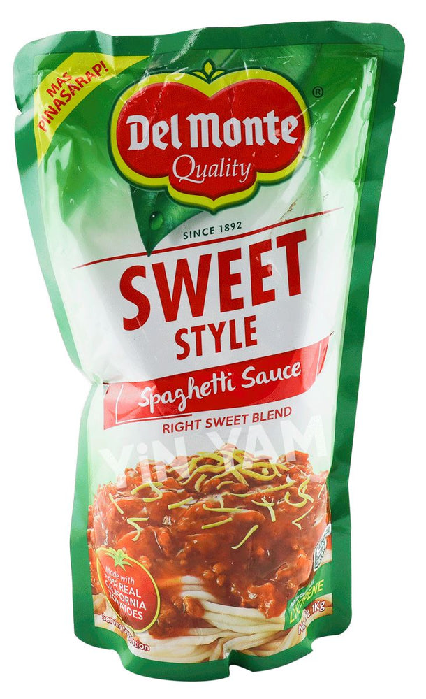 Del Monte Spaghetti Sauce SWEET STYLE 1kg - Yin Yam - Asian Grocery