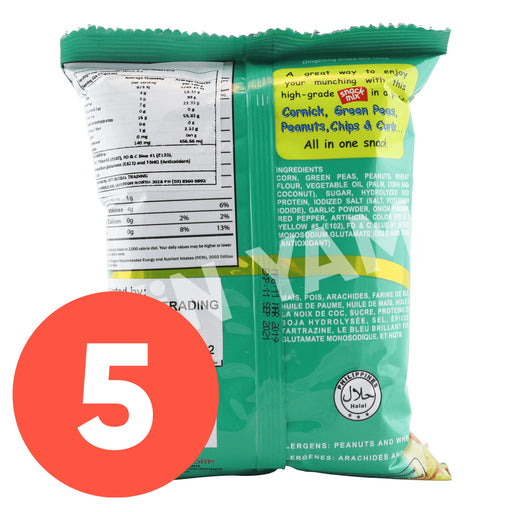 Ding Dong Snack Mix 100g-Pack of 5 - Yin Yam - Asian Grocery