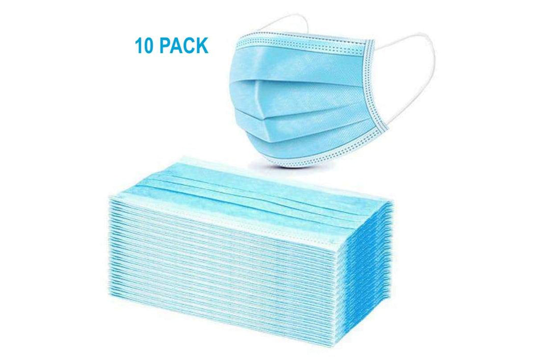 Disposable Masks 3ply-Pack of 10 - Yin Yam - Asian Grocery