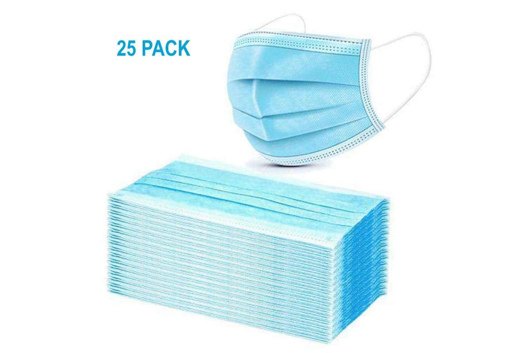 Disposable Masks 3ply-Pack of 25 - Yin Yam - Asian Grocery