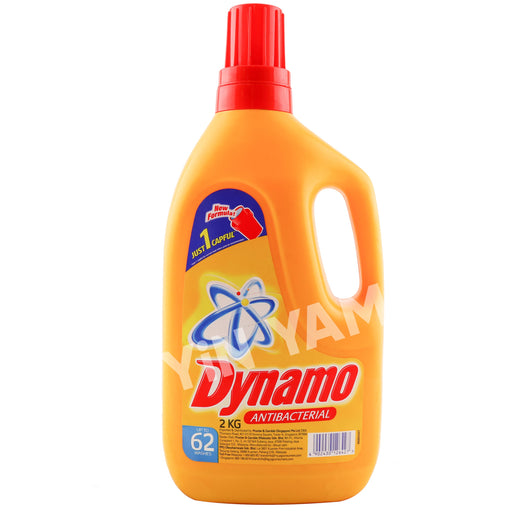 Dynamo Antibacterial Liquid Detergent 2kg - Yin Yam - Asian Grocery