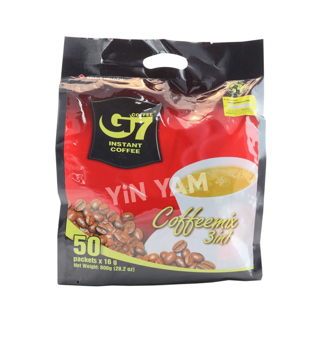 Trung Nguyen Ca Phe G7 Instant Coffee 3in1 (50 sachets x 16g) EE