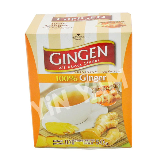 Gingen Ginger Instant Powder 10 sachets 50g - Yin Yam - Asian Grocery