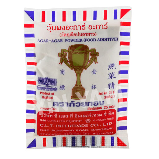 Golden Trophy Agar Agar Powder 25g - Yin Yam - Asian Grocery