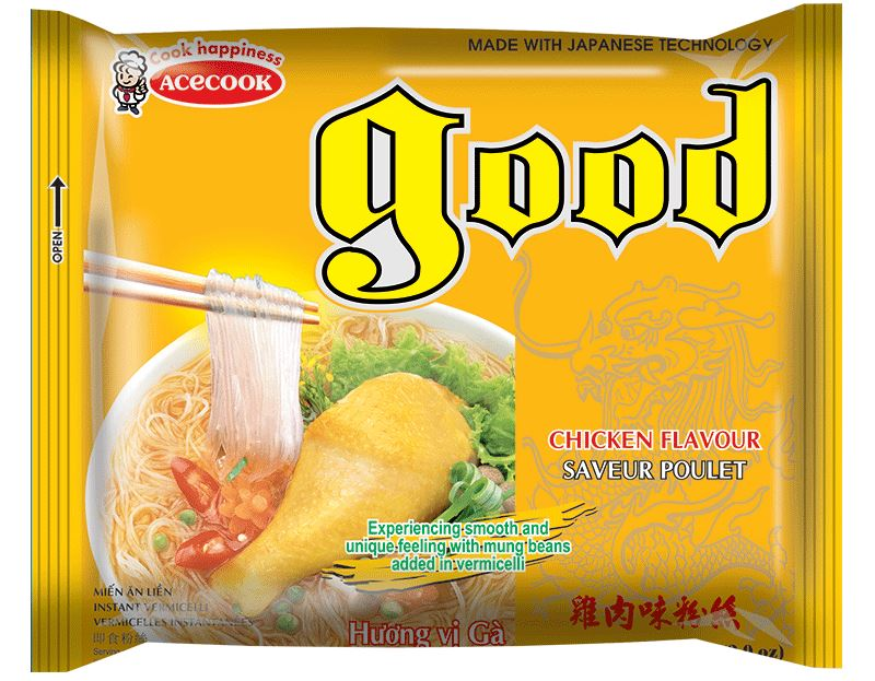 Acecook GOOD Mien Ga Instant Vermicelli Chicken 56g - Yin Yam - Asian Grocery