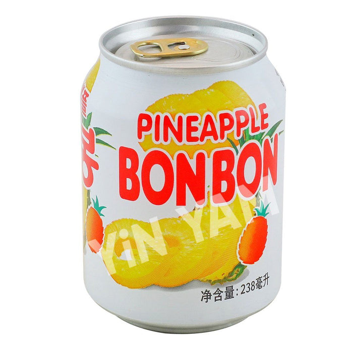 Haitai Bon Bon Pineapple Juice 238ml - Yin Yam - Asian Grocery