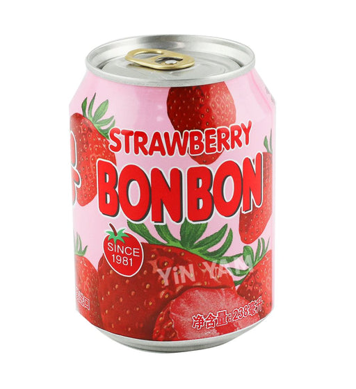 Haitai Bon Bon Strawberry Juice 238ml - Yin Yam - Asian Grocery