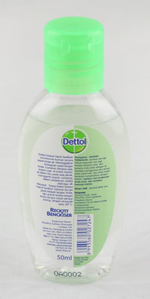 Dettol Instant Hand Sanitizer 50ml - Yin Yam - Asian Grocery