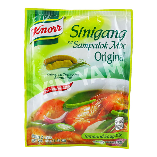 Knorr Sinigang Sampalok Mix TAMARIND Original 44g - Yin Yam - Asian Grocery