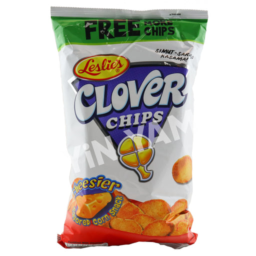 Leslie Clover Chips Cheese 155g - Yin Yam - Asian Grocery