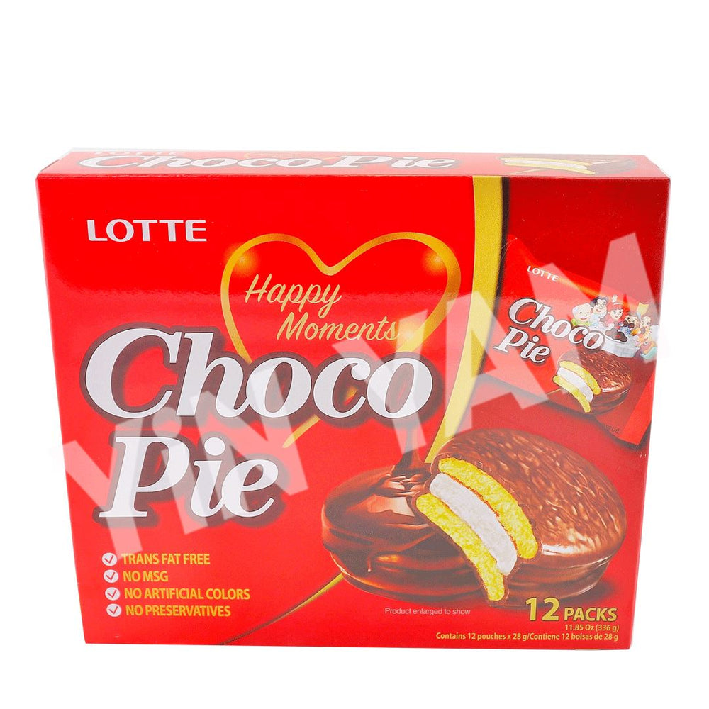 Lotte Choco Pie 336g 12packs - Yin Yam - Asian Grocery