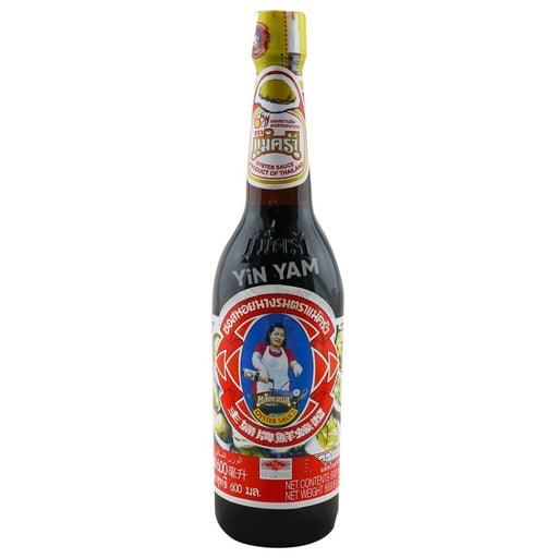 Maekrua Oyster Sauce 600ml - Yin Yam - Asian Grocery