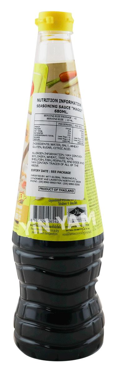 Maggi Seasoning Sauce 680ml - Yin Yam - Asian Grocery