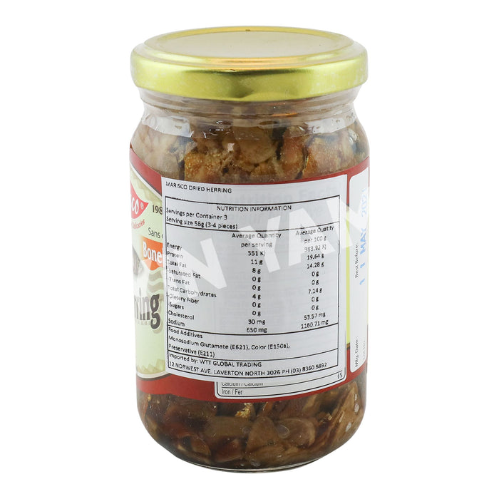 Marisco Dried Herring in Hot Oil 240g - Yin Yam - Asian Grocery