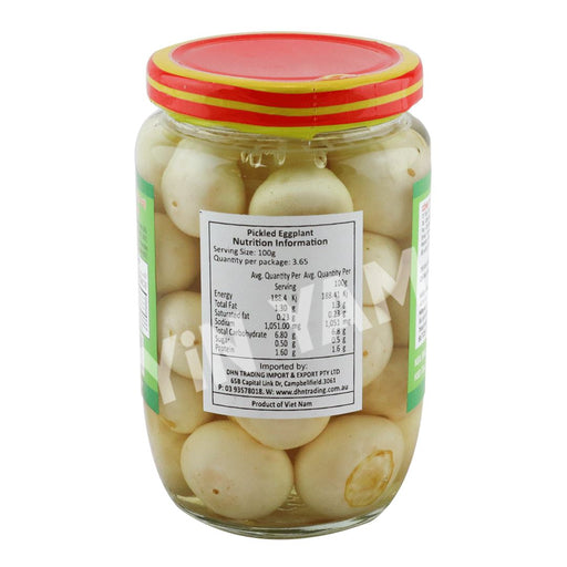 Ngoc Lien Ca Phao Pickled Eggplant 400g - Yin Yam - Asian Grocery