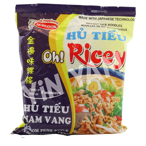 Acecook Oh Ricey HU TIEU NV Phnom Penh Style Instant Noodles 71g - Yin Yam - Asian Grocery