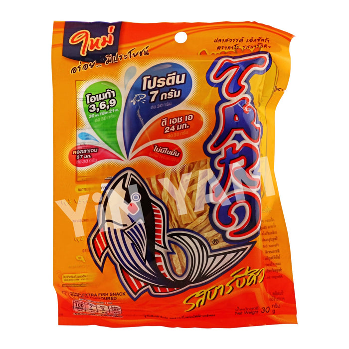Taro Fish Snack BBQ Flavour 30G - Yin Yam - Asian Grocery