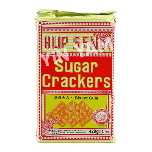 Hup Seng Sugar Crackers 428G - Yin Yam - Asian Grocery