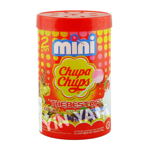 Chupa Chups Mini Lollipops 50 pack 300g - Yin Yam - Asian Grocery