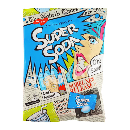 Nobel Super Sour Soda Candy 88g