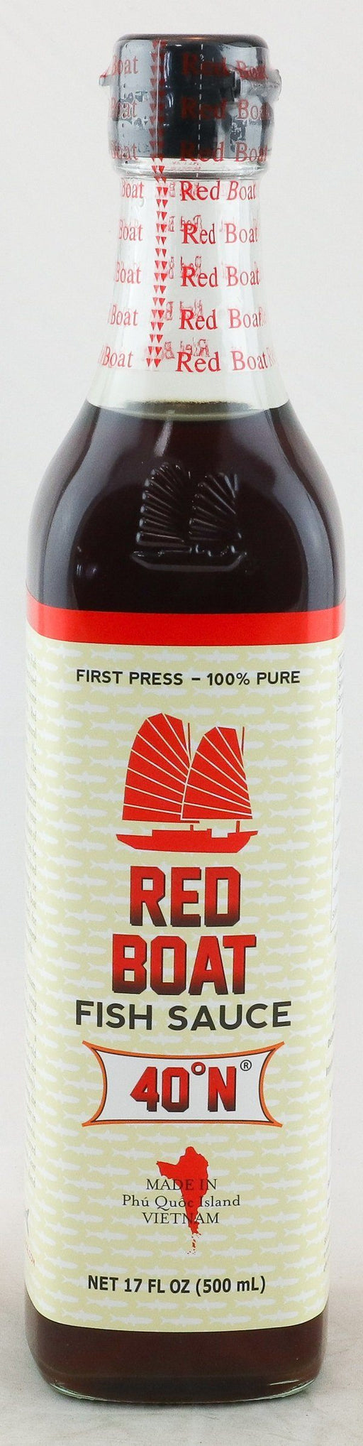 Red Boat Fish Sauce 40 N 500ml - Yin Yam - Asian Grocery