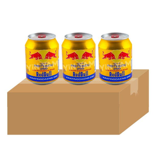 Red Bull Gold Can 250ml-Carton x 24