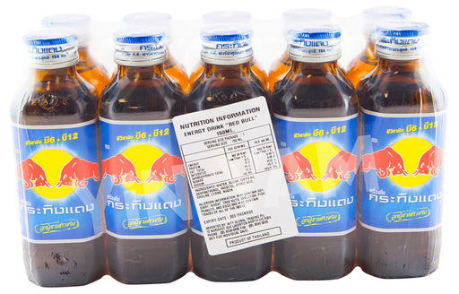 Kratingdaeng Energy Drink 150ml-Pack of 10 - Yin Yam - Asian Grocery
