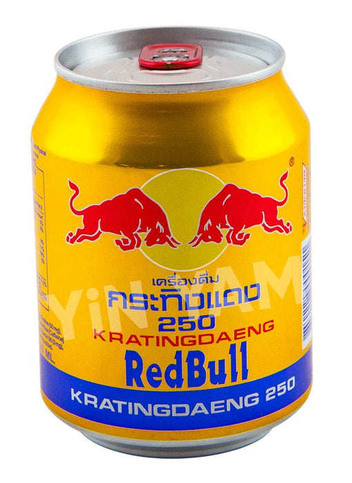 Red Bull Gold Can 250ml - Yin Yam - Asian Grocery