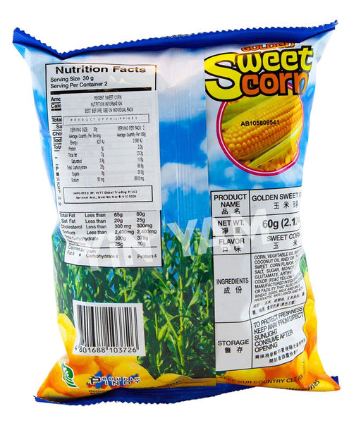 Regent Golden Sweet Corn 60g - Yin Yam - Asian Grocery