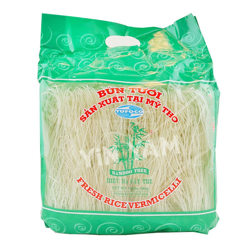 Bamboo Tree BUN TUOI Fresh Rice Vermicelli 908g - Yin Yam - Asian Grocery