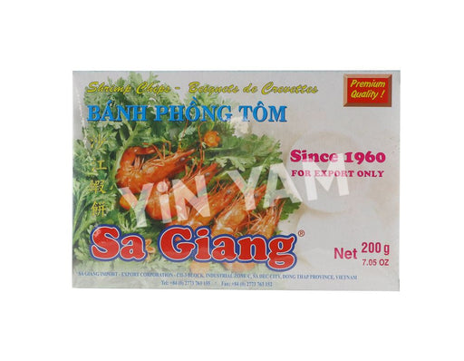 Sa Giang Special Shrimp Chips 200g - Yin Yam - Asian Grocery