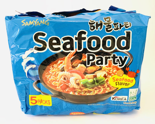 Samyang SEAFOOD PARTY Instant Noodle Soup 125g x 5packs