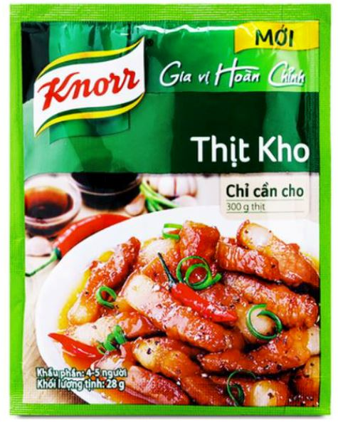 Knorr Thit Kho Seasoning 28g - Yin Yam - Asian Grocery
