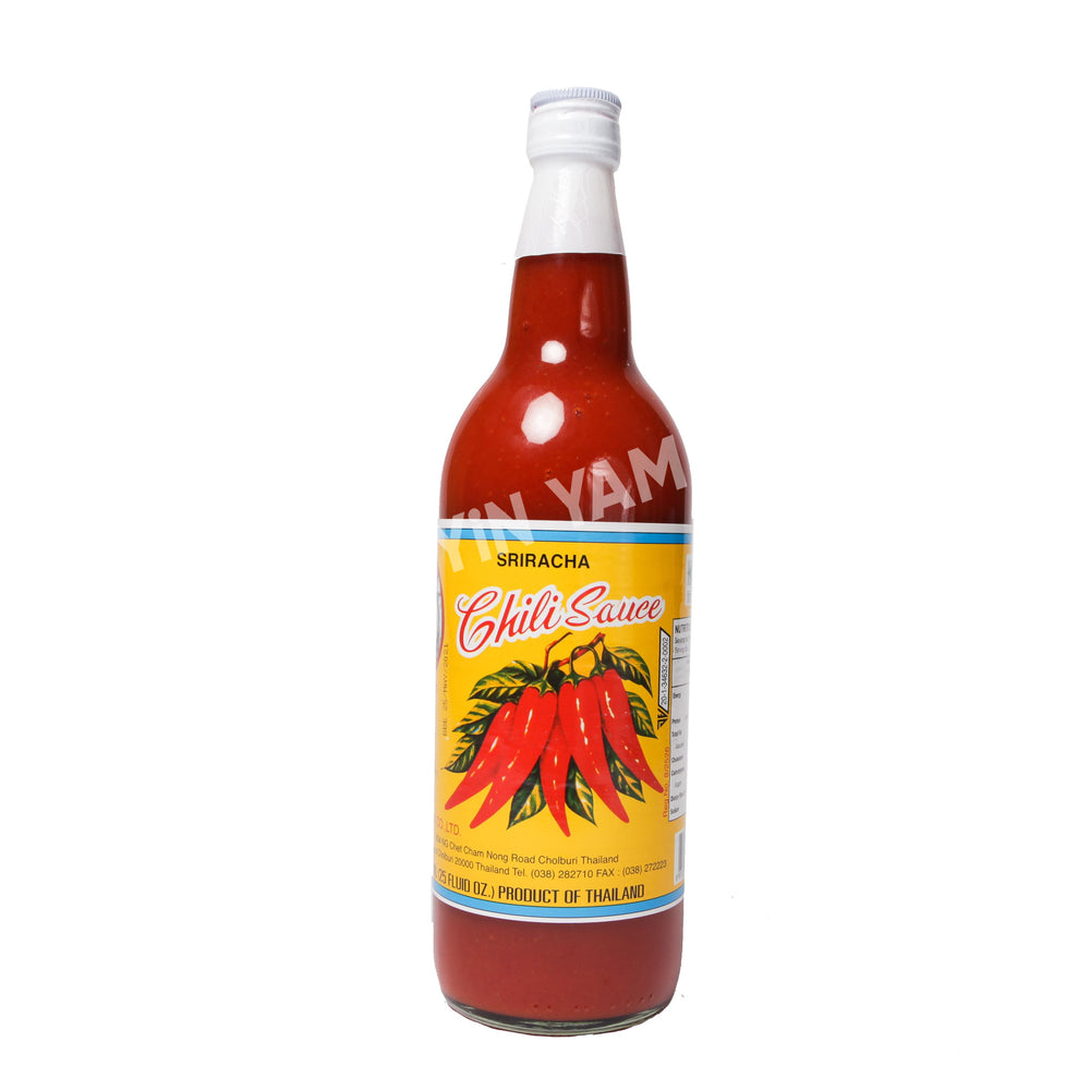 SHARK Sriracha Chili Sauce Medium Hot 750ml - Yin Yam - Asian Grocery