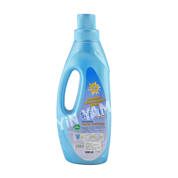 Sofcare Sky Blue Fabric Softener 1L - Yin Yam - Asian Grocery