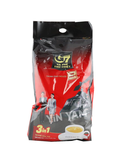 Trung Nguyen Ca Phe Thu Thiet G7 Instant Coffee 100 x 16g (helicopter) - Yin Yam - Asian Grocery