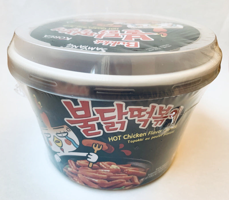 Samyang Hot Chicken Flavor TOPOKKI Rice Cakes 185g - Yin Yam - Asian Grocery