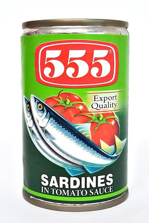 555 Sardines in Tomato Sauce 155g - Yin Yam - Asian Grocery