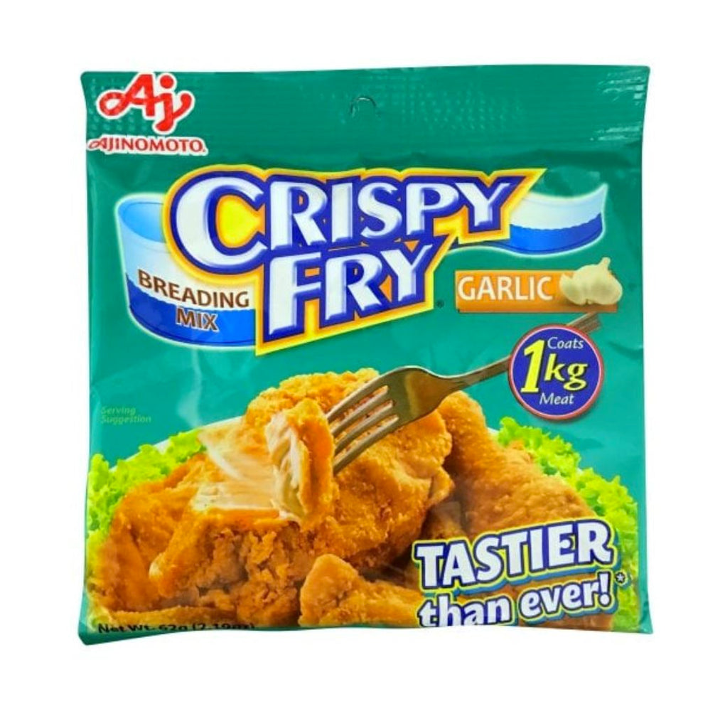 Ajinomoto Crispy Fry Breading Mix GARLIC 62g - Yin Yam - Asian Grocery