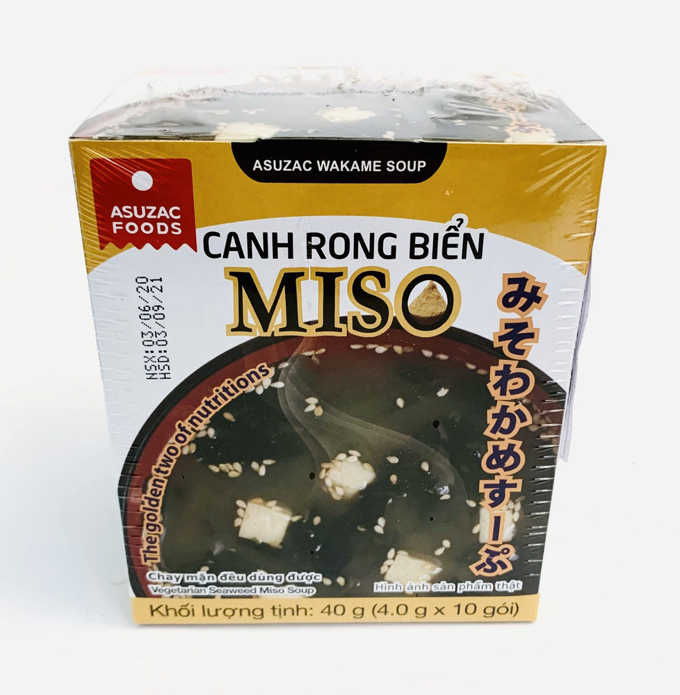 Asuzac Foods Canh Rong Bien MISO 48g (4g x 12sachets)