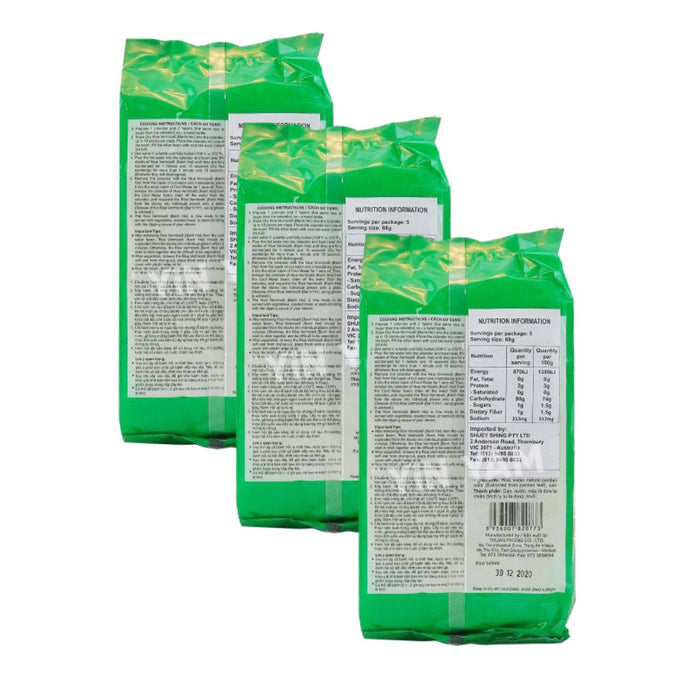 Bamboo Tree BANH HOI LA DUA Fine Rice Vermicelli 340g-Pack of 3