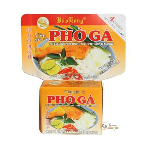 Bao Long CUBE PHO GA Soup Seasoning 75g - Yin Yam - Asian Grocery