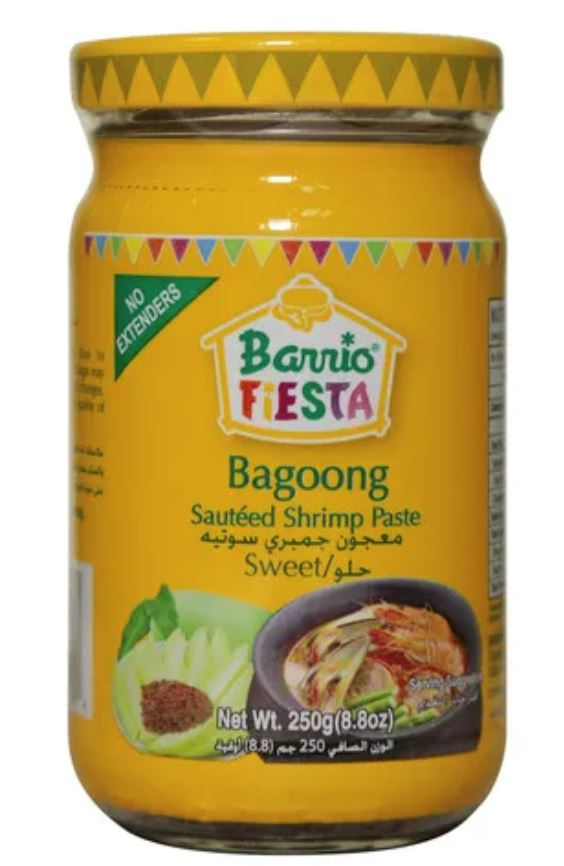 Barrio Fiesta Sauteed Shrimp Paste SWEET 250g - Yin Yam - Asian Grocery
