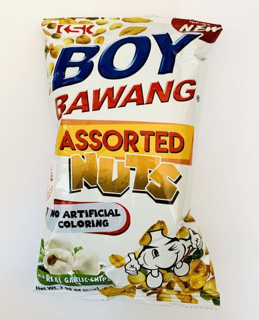 Boy Bawang ASSORTED NUTS Garlic 85g