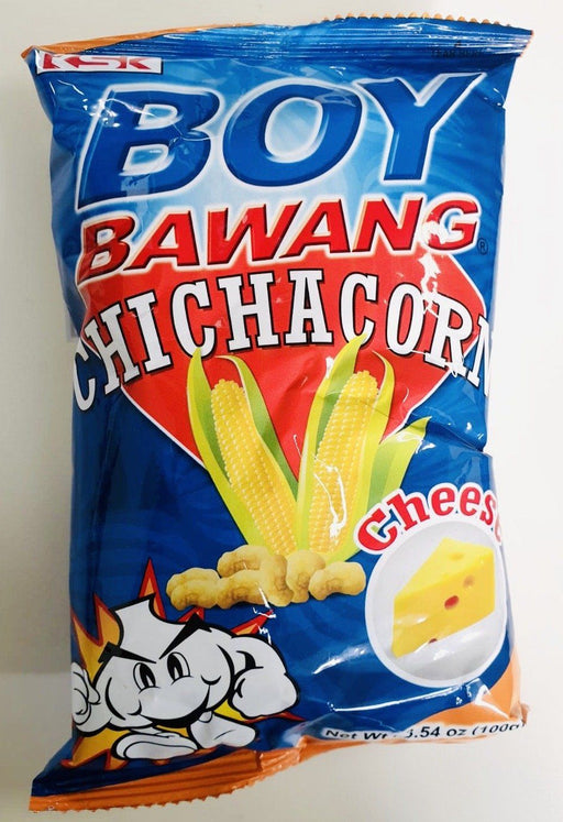 Boy Bawang CHICHACORN CHEESE 100g Chips & Snack KSK