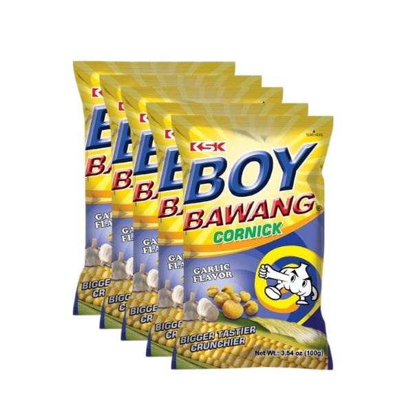 Boy Bawang Garlic 100g-Pack of 5